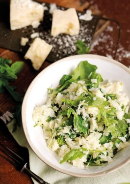 Lemon & Arugula Risotto