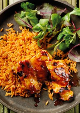 Sticky Lime Chilli Chicken