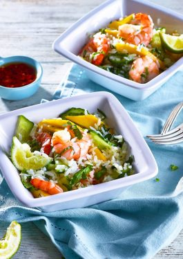 Thai Shrimp & Mango Rice Salad