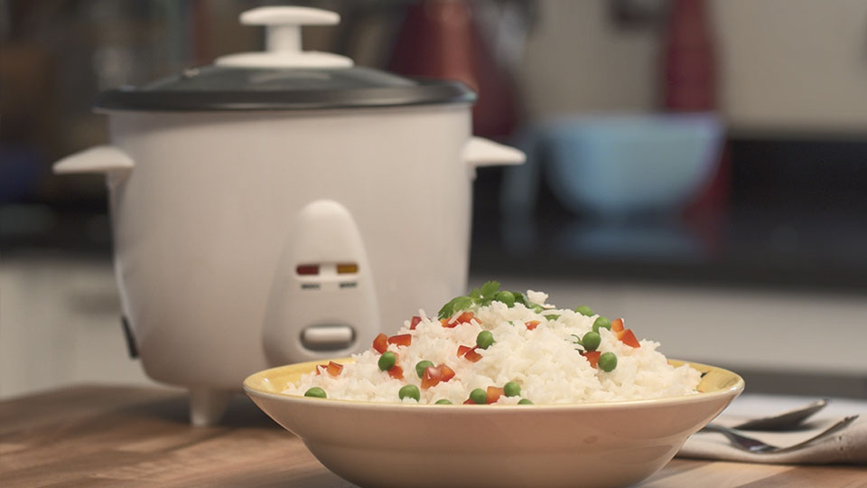 Cook Rice in a Rice Cooker