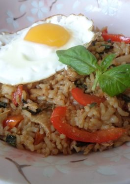Basil Turkey Fried Rice